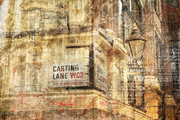 Carting Lane, Savoy Place | Nicky Jameson