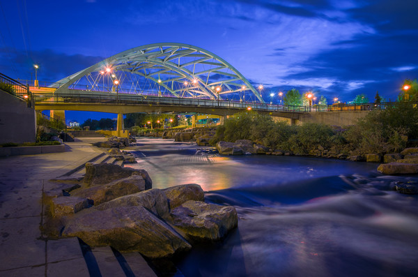Photo of Denver Confluence Park & 16th Street Bridge
