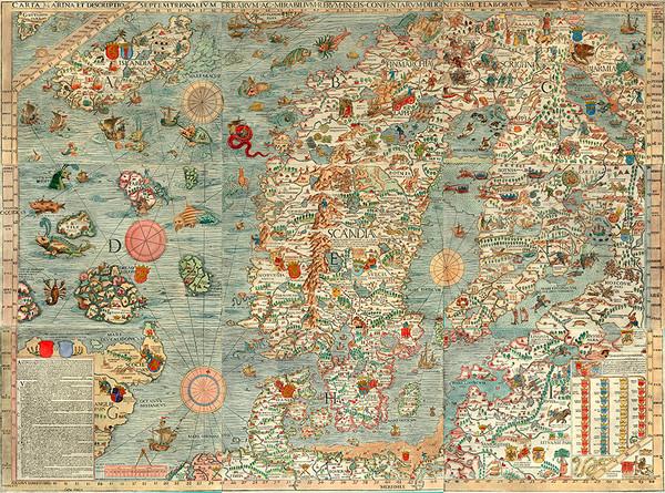 Carta Marina 1539