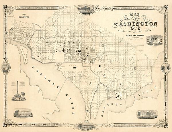 Washington D. C., 1850