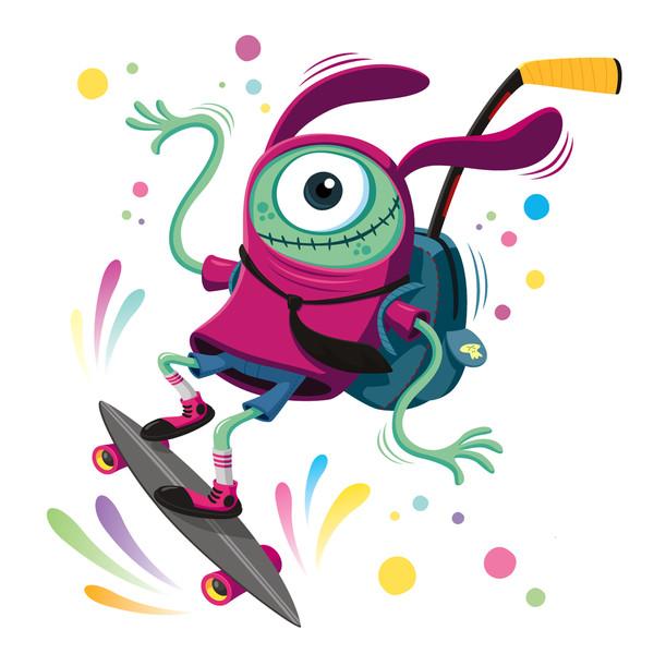Bichejo Skateboarder