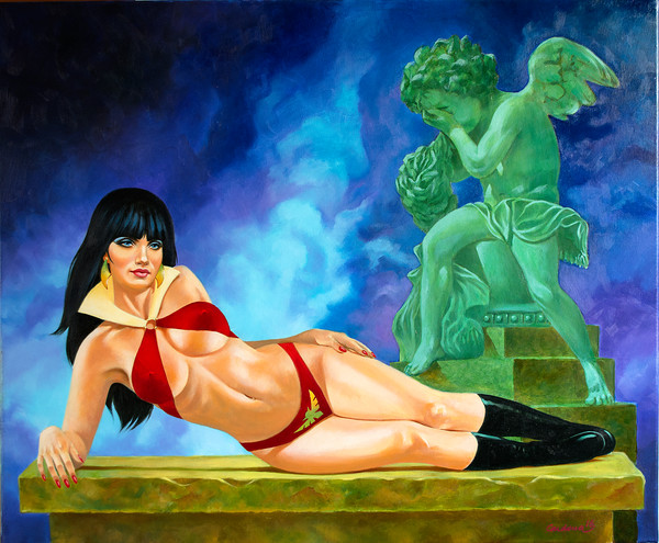 Bad Vampirella with Angel