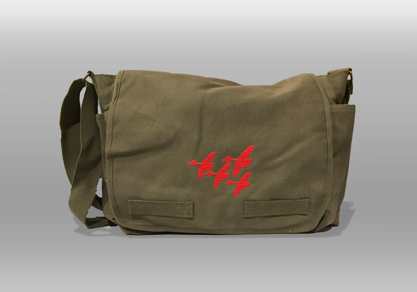 A heavy weight canvas messenger bag that will change the way that you conquer your day.