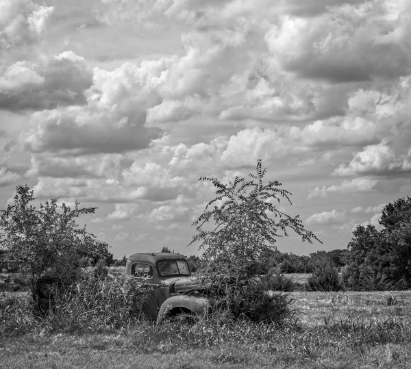 International Truck 1940 Ranch Clouds|Wall Decor fleblanc