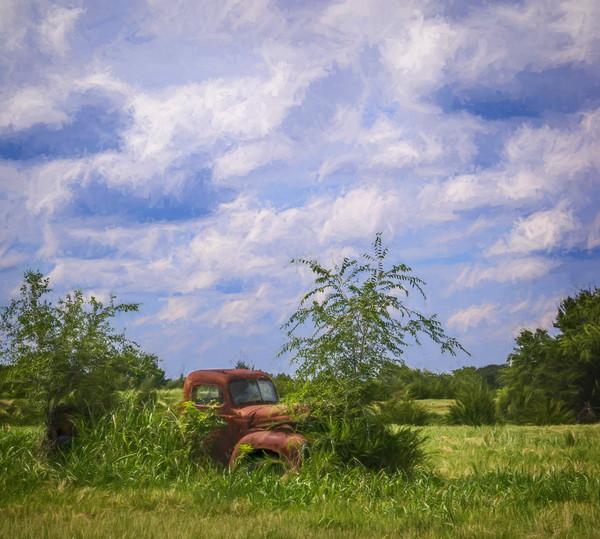 International Truck 1940 Ranch Field|Wall Decor fleblanc