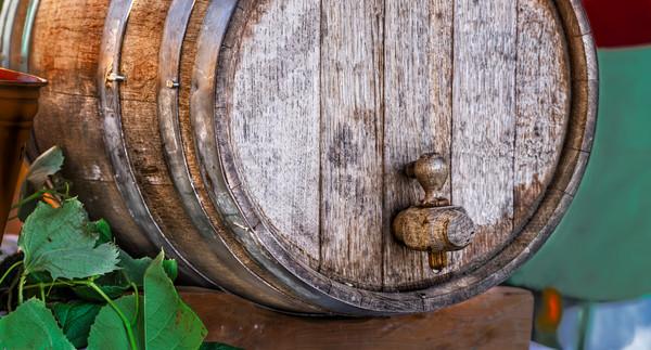 Wine Wooden Wood Old Barrel Cask Decor|Wall Decor fleblanc