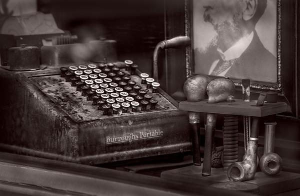 Burroughs Adding Machine Vintage Decor|Wall Decor fleblanc