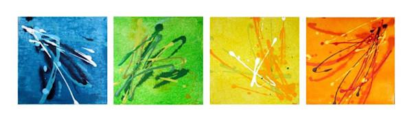 Prints of  the Four Seasons, Horizontal by Christine Nye