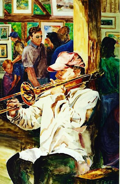 Johhny Russo at the Artist Market