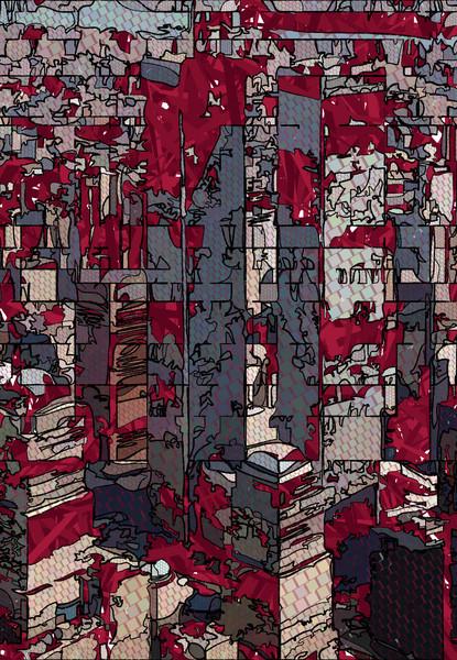 World Trade Center Print by Peter McClard at VectorArtLabs.com