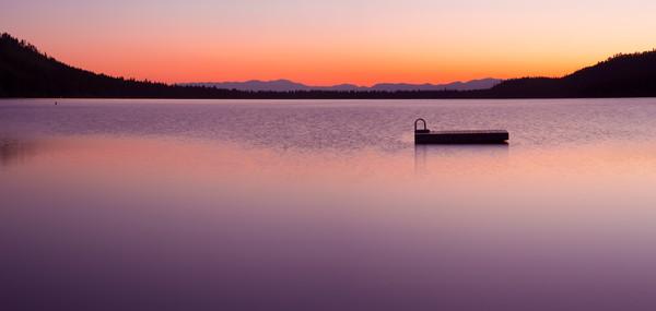 Fallen Leaf Lake Sunrise, Photo art print