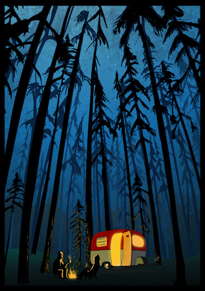 Camping Prints and Posters