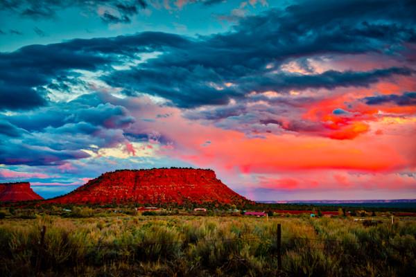 Kanab Sunset #1 Fine Art Photograph by Robert Lott
