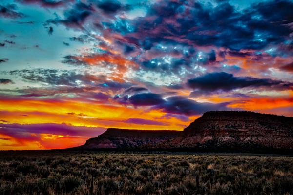 Kanab Sunset #4 Fine Art Photograph by Robert Lott
