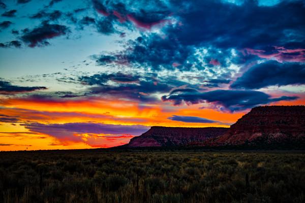 """Kanab Sunset #6"" Photograph for Sale as Fine Art"