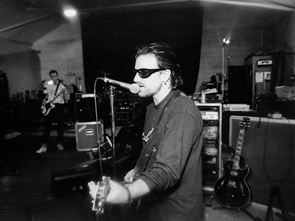 Bono, In The Studio. Limited Edition Print