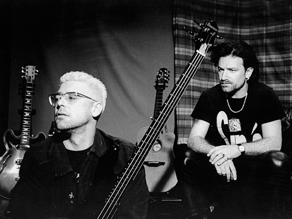 Adam Clayton and Bono, In The Studio Limited Edition Print