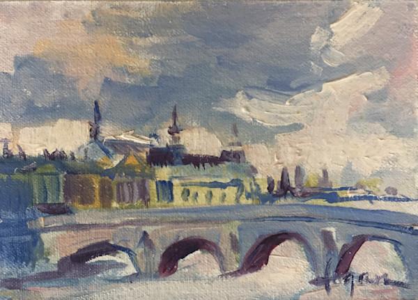 Grande Palais ~ Original Oil Painting by  Dorothy Fagan