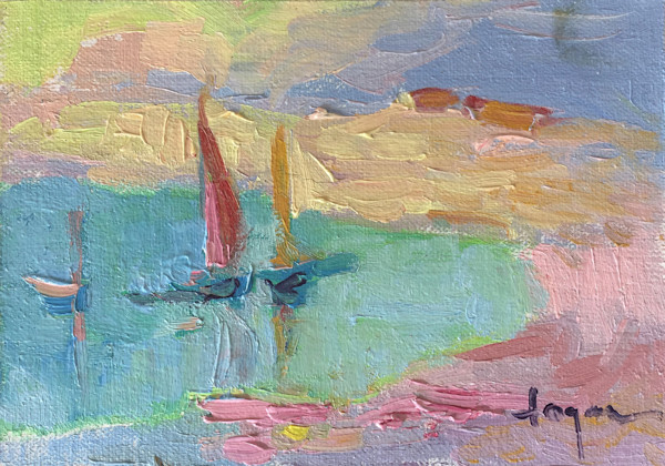 Le Cove ~ Original Oil Painting by Dorothy Fagan