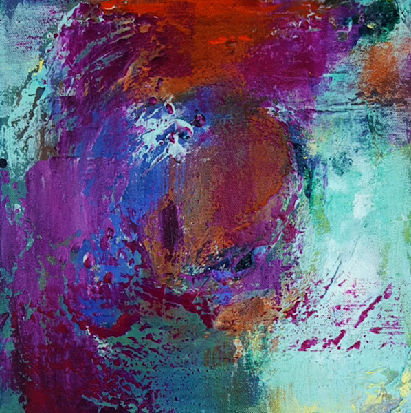 Riches of the Soul abstract art by Christine Nye