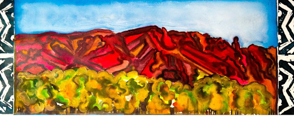 Sandia Sunset Print Classic Santa Fe Style
