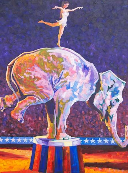 Balancing Act by Matt McLeod. Buy Prints online at Matt McLeod Fine Art Gallery