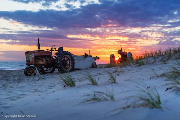 Tractors in the Dunes