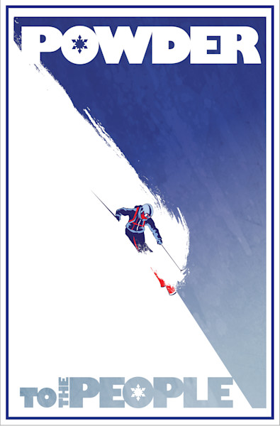 Nordic, Alpine, Downhill, Freestyle Ski art by Sassan Filsoof available as fine art prints, in paper, canvas, metal and more
