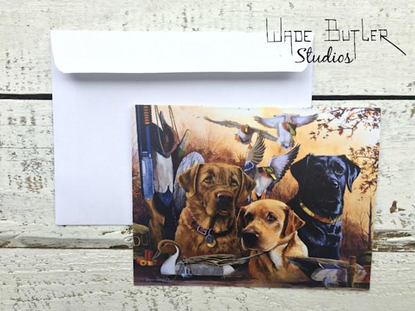 """Hunting Buddies"" Greeting Card Set"