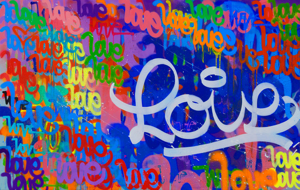 Nothing But Love | Graffiti Inspired Art by Karlos Marquez