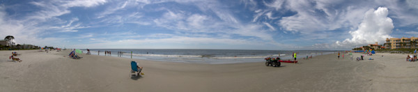 Beach at St. Simons Island