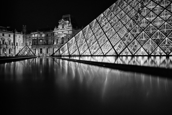 La musee du Louvre, Paris, France