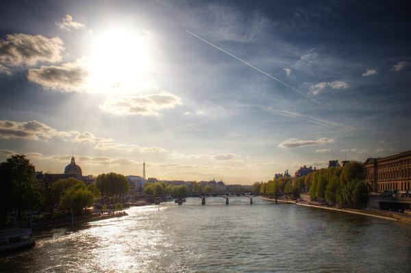 Pont des Arts du Le Seine à Pont Neuf, Paris, France