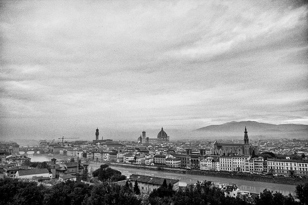 Florence, Italy from Michelangelo Park