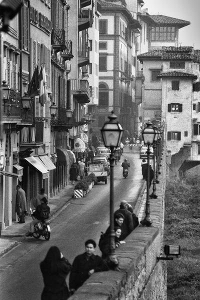 Lungarno degli Acciaiuoli, Florence, Italy