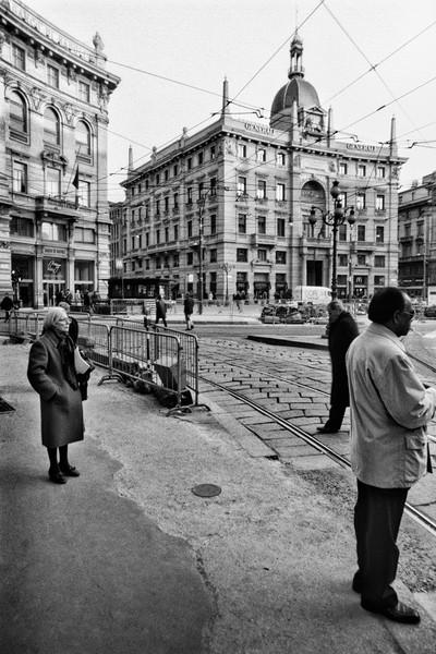 Street Scene, Milan, Italy