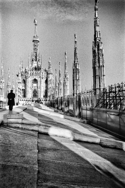 Rooftop of Duomo di Milano, Milan, Italy