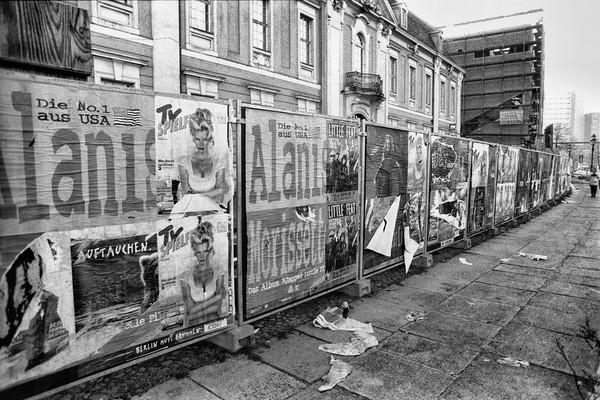 Street Billboards, 1995, Berlin, Germany