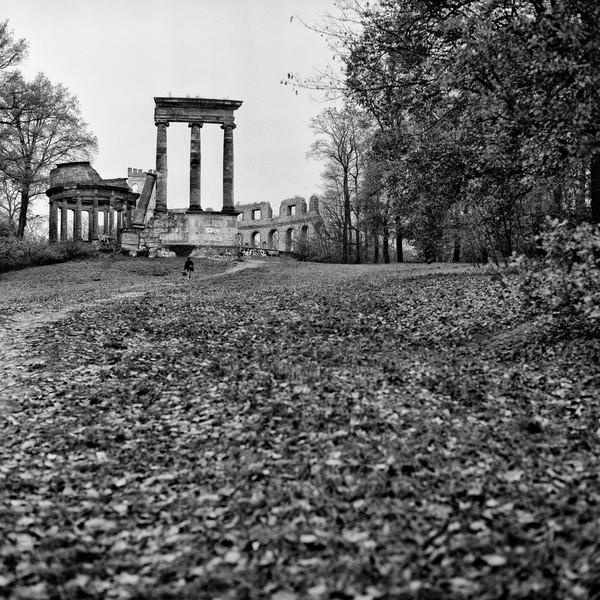 Ruinenburg, Sanssouci Park, Potsdam, Germany