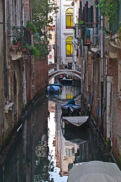 Venice Street Canal, Venice, Italy
