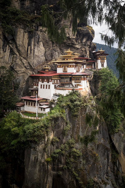 Tigers Nest, Paro Taktsang, Buddhist Temple, Bhutan