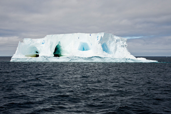 Floating Ice Caves, Ice Berg with fresh water caves, Antarctica