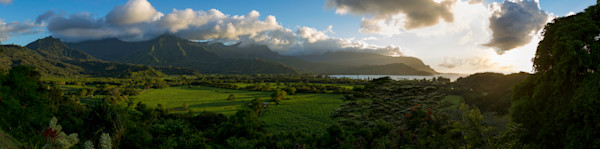 Hanalei Valley Sunset, Kauai, Hawaii