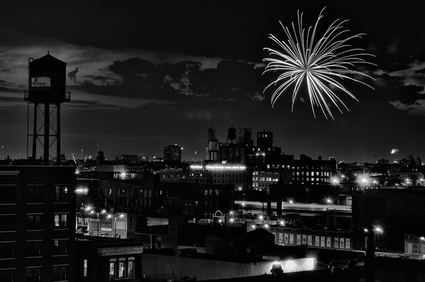 West Loop Fireworks, Chicago