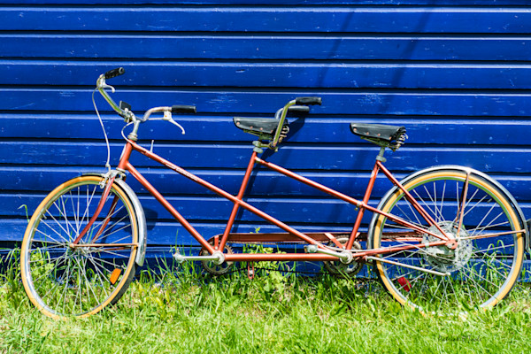 Bicycle for Two Photograph for Sale as Fine Art