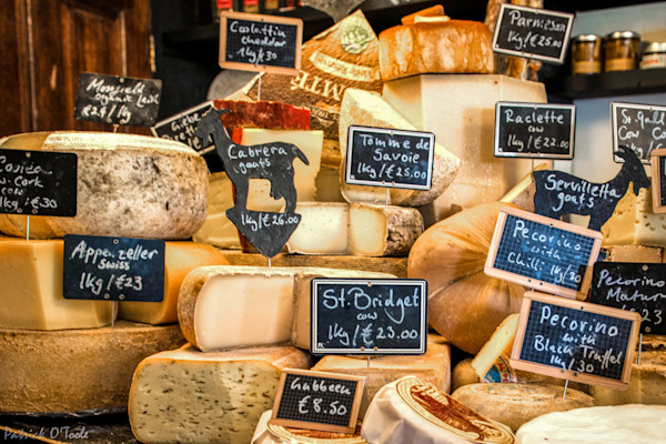 Irish Cheese Shop Photograph for Sale as Fine Art