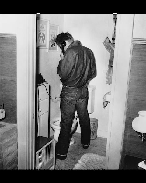 James Dean in the Restroom