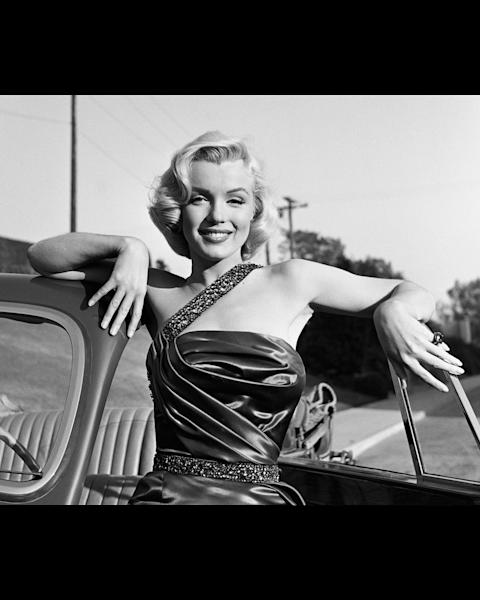 Marilyn Monroe Classic Portrait.
