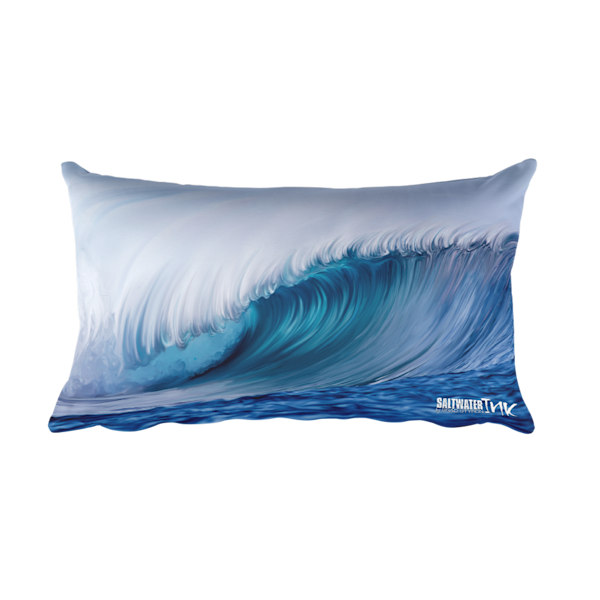 Indo Wave Pillow by Brad Styron
