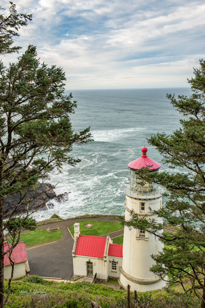 Heceta Head Lighthouse (161613BSND8) Photograph for Sale as Fine Art Print